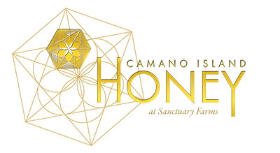 Camano Island Honey at Sanctuary Farms, Stanwood, and the Skagit Valley Logo