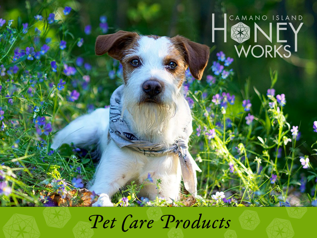 Camano Island HoneyWorks Pet Care Products
